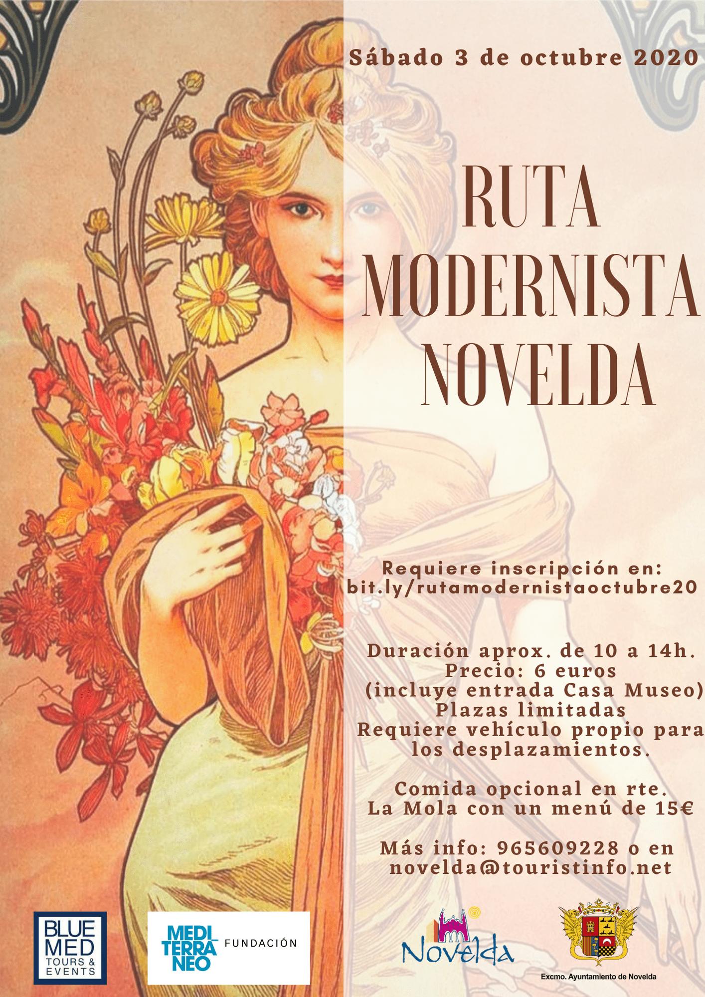 Ayuntamiento de Novelda ruta-modernista-octubre-20 Ruta Modernista Novelda