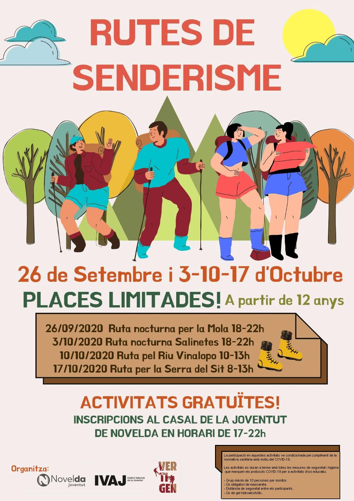Ayuntamiento de Novelda rutes-senderistes1 Ruta senderista per la Serra del Cid