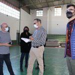 Ayuntamiento de Novelda 07-4-150x150 Novelda prepara la logística en el Pabellón Deportivo Municipal para las vacunaciones masivas en abril