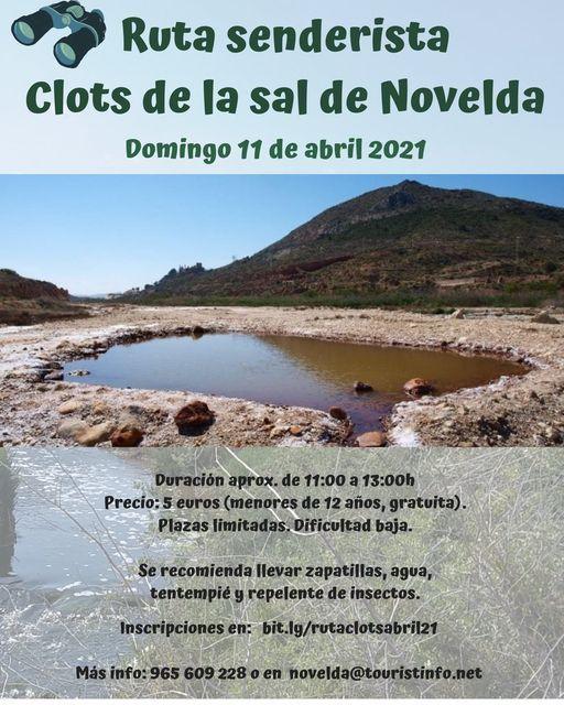 Ayuntamiento de Novelda 167768489_2847318125506328_4197051817912761750_n Ruta Clots de la Sal